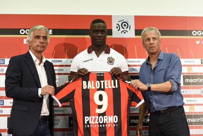 Nice: Balotelli encore pris pour cible à Liverpol