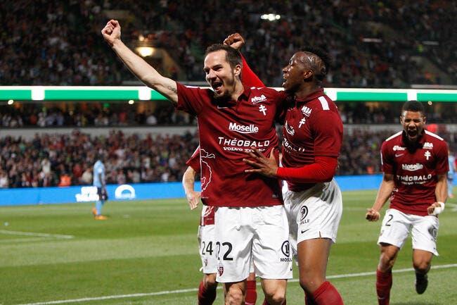 Officiel: Kevin Lejeune prolonge avec le FC Metz