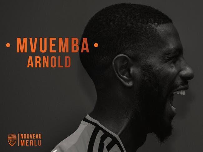 Officiel: Mvuemba revient à Lorient