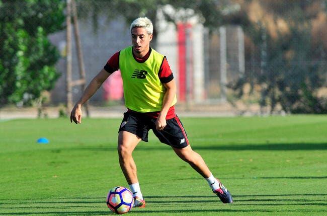 Première blessure pour Nasri au FC Séville