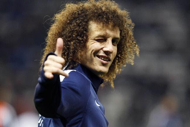 PSG: De passage à Paris, David Luiz laisse un message aux Français