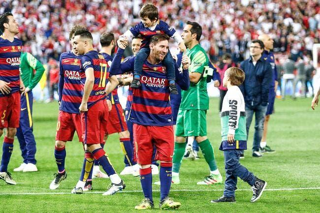 Espagne: Messi va tenter de faire aimer le football à son fils