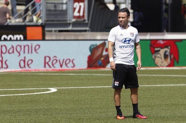 OL: Pas de Valbuena contre Bordeaux