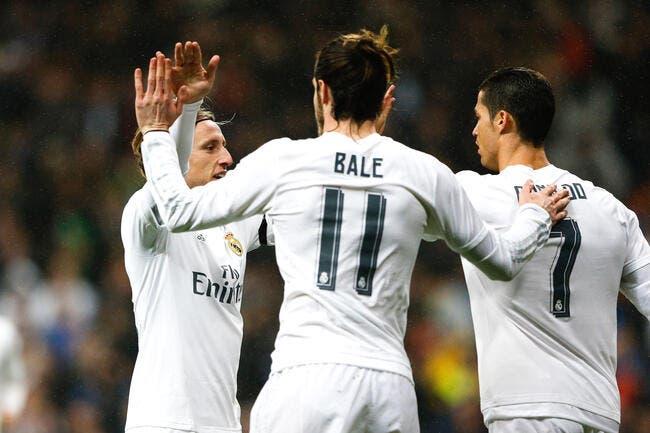 Cristiano Ronaldo, Bale, Modric… Le Real ne prend aucun risque