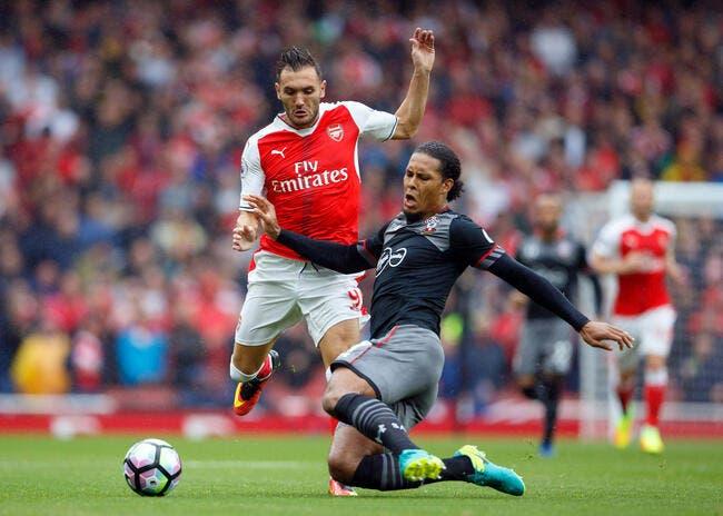 Arsenal - Southampton : 2-1