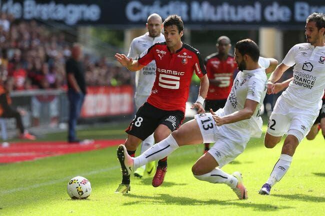 Rennes se place après sa victoire contre Caen