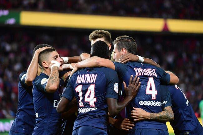 PSG : Le Paris SG au complet contre Arsenal