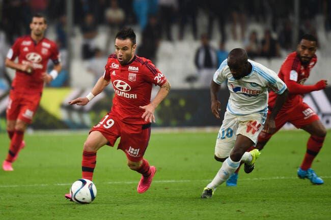 OM-OL : Valbuena ne se dégonflera pas contre Marseille