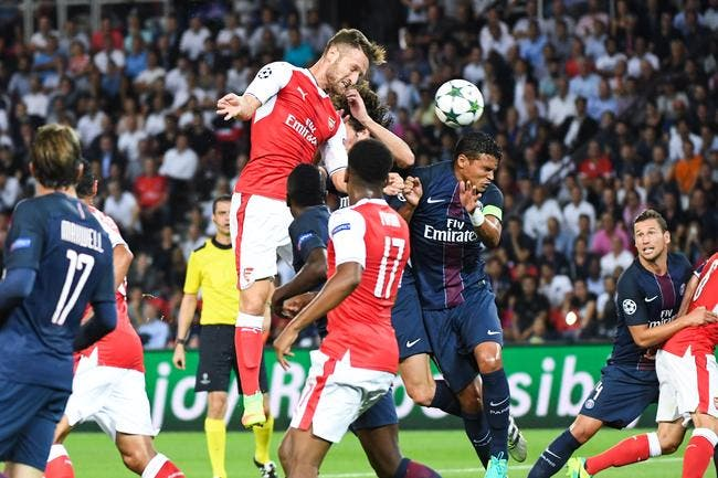 Football ligue des champions psg arsenal 1 1 coupe d 39 europe psg foot 01 - Coupe de ligue des champions ...
