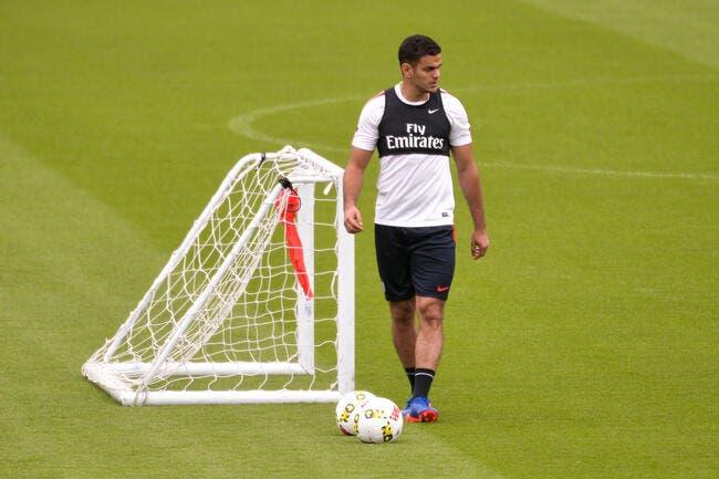 PSG: Ben Arfa obligé de s'entrainer tout seul au Camp des Loges