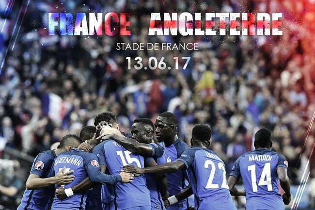 France: L'Angleterre au menu des Bleus en 2017