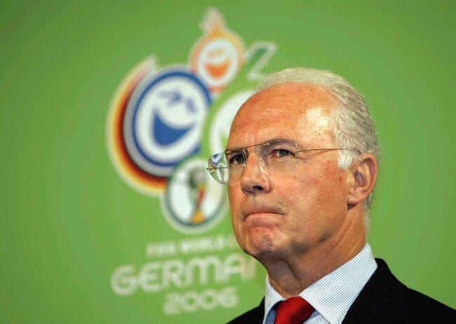 Scandale : Beckenbauer a empoché 5,5ME comme bénévole en 2006 !