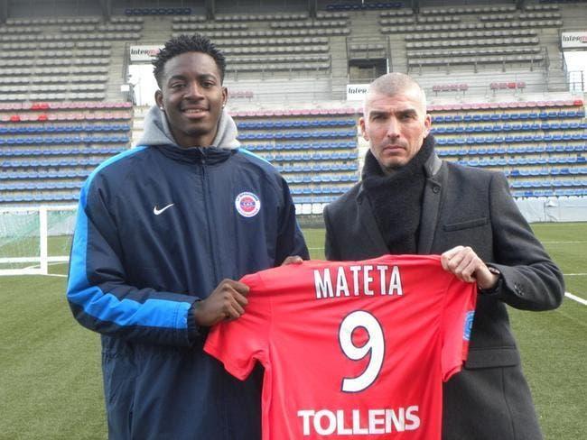 OL: Accord de Châteauroux pour envoyer Mateta à Lyon