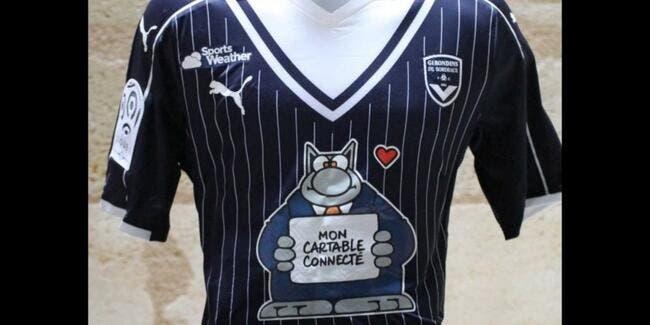Bordeaux: La belle opération sur le maillot des Girondins