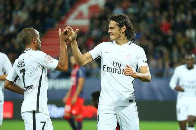 Le PSG se fâche: 6-0 avec quatre buts de Cavani!
