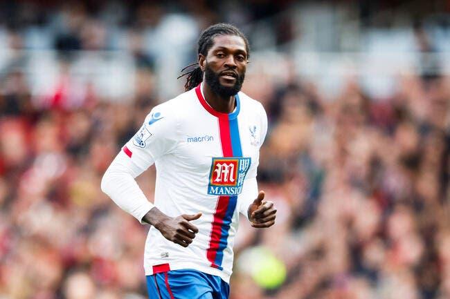 OL: La condition physique d'Adebayor, Lyon est fixé