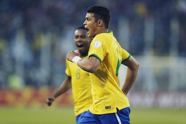 PSG: Thiago Silva revient en sélection du Brésil