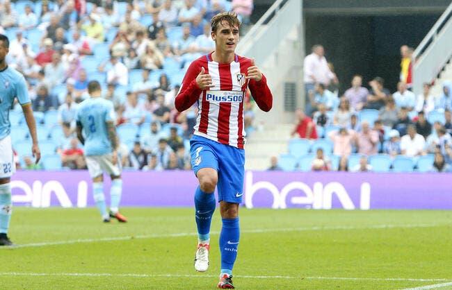 Atlético Madrid - Gijon : 5-0