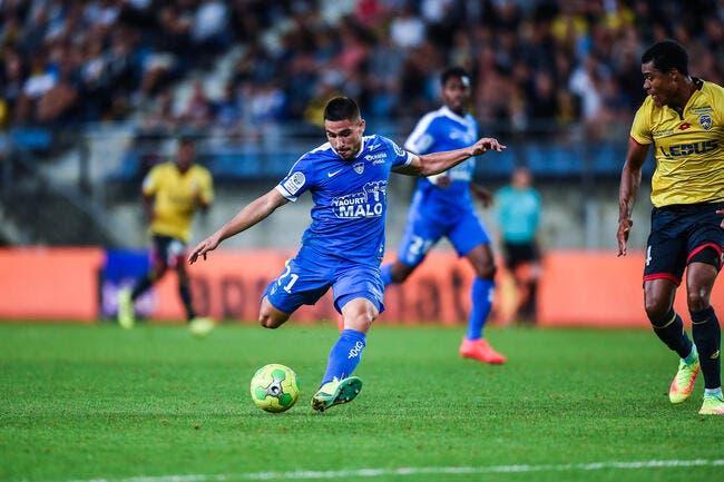 Brest - Auxerre : 1-0