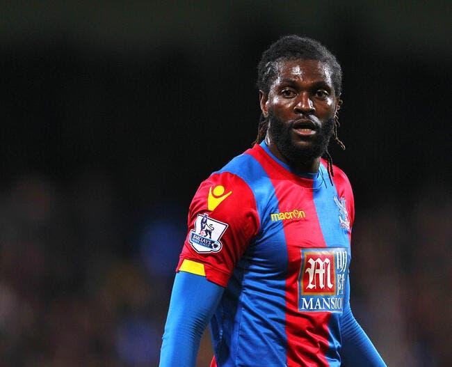 OL : Adebayor a fait ses valises, il quitte Lyon et va signer ailleurs