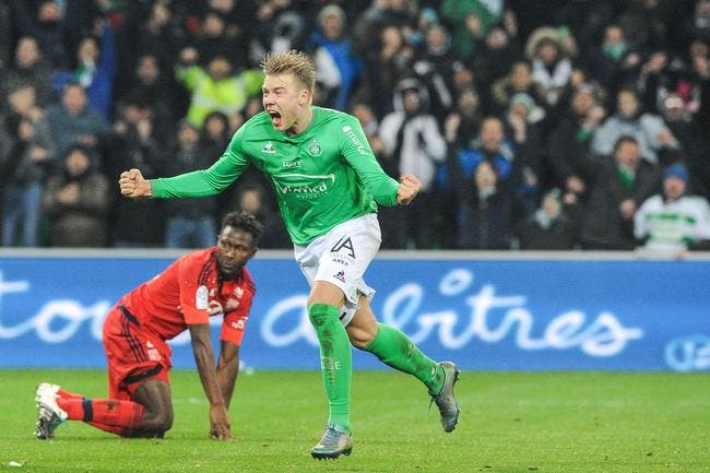 ASSE : Söderlund est un héros éternel grâce à son but contre l'OL