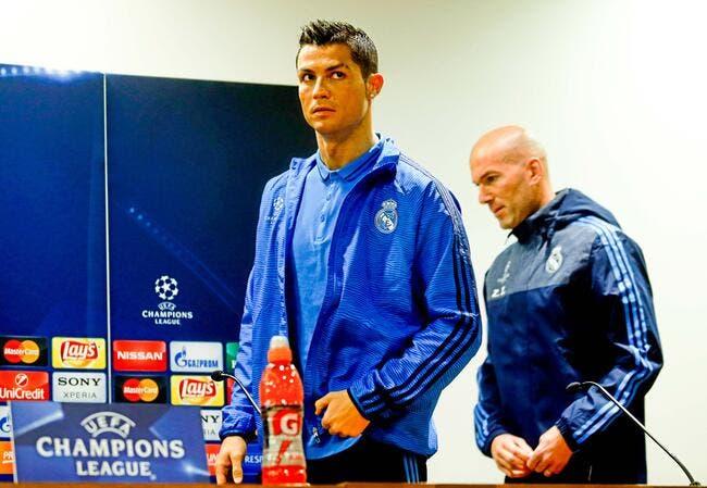 Ballon d'Or: Zidane ne voit pas qui peut battre Cristiano Ronaldo