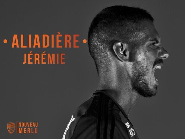 Officiel : Aliadière signe pour un an à Lorient