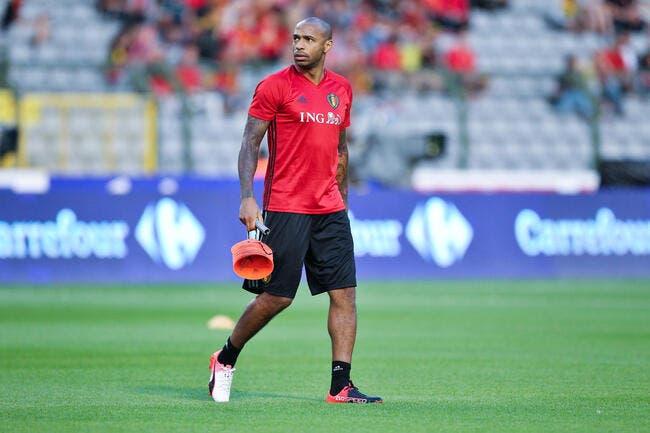 Thierry Henry avec la Belgique, Wilmots croit rêver