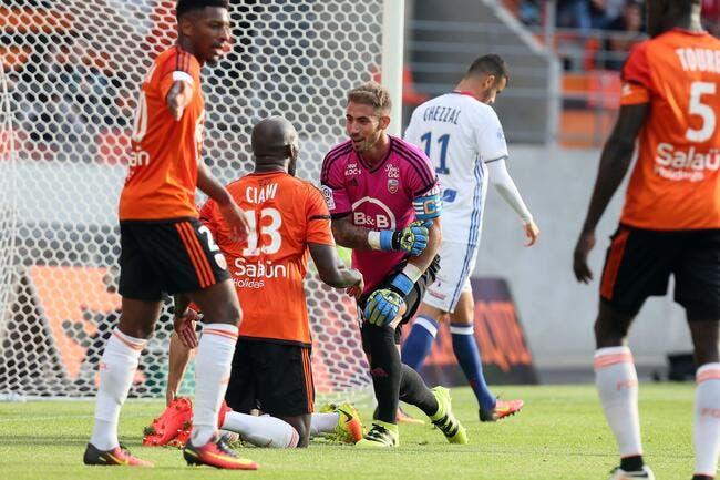 Lorient : Lecomte est bon, et encore plus après ce succès contre l'OL