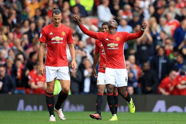 PL : Les premières confidences d'un Pogba buteur à Man Utd