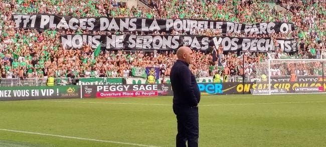 OL-ASSE : Les fans de Sainté solidaires pour boycotter «la poubelle»