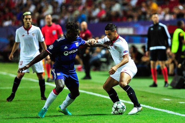 OL : Des sales notes pour Yanga-Mbiwa après Séville-Lyon