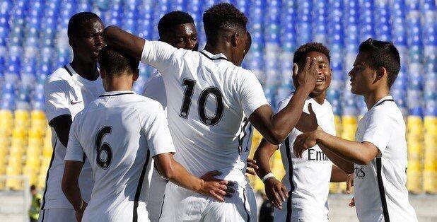 Youth League : Le PSG gagne 8-1 avec un triplé signé...Weah !