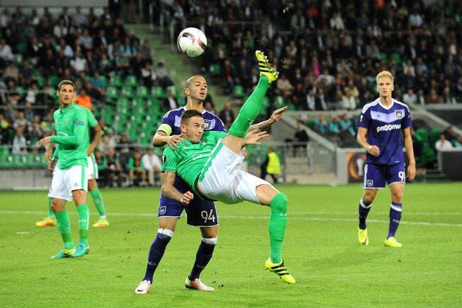 ASSE - Anderlecht : 1-1