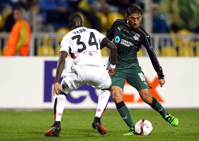 Krasnodar - Nice : 5-2