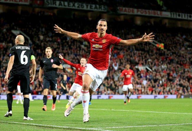 Manchester United - Zarya Lugansk : 1-0