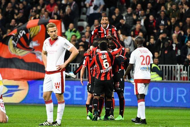L1 : Nice domine Bordeaux pour revenir sur le PSG et distancer l'OL