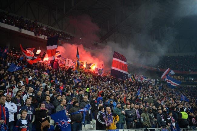 Des supporters du PSG dégradent le Parc OL