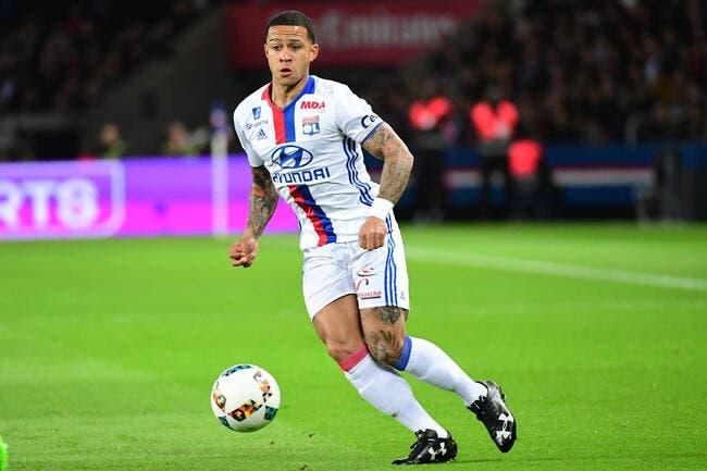 OL : Memphis va regretter son tweet contre Lorient