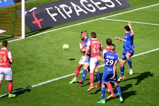 Reims - Strasbourg : 1-1