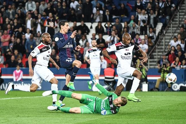 PSG - Guingamp 4-0