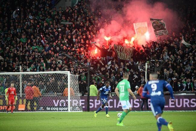 ASSE/Rennes à huis clos : le club stéphanois fait appel