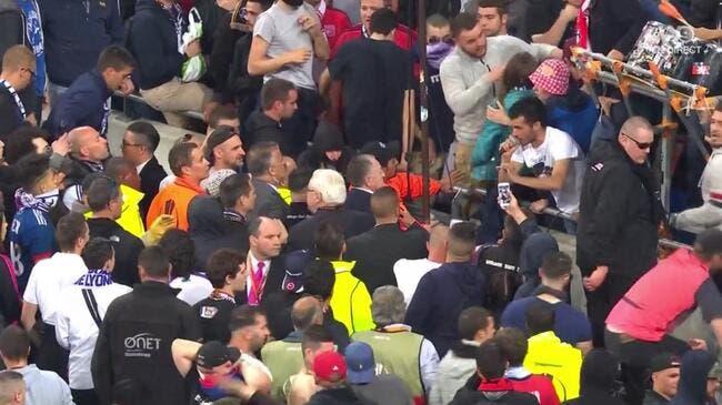 OL - Besiktas : Genesio se lâche sur le public du Parc OL
