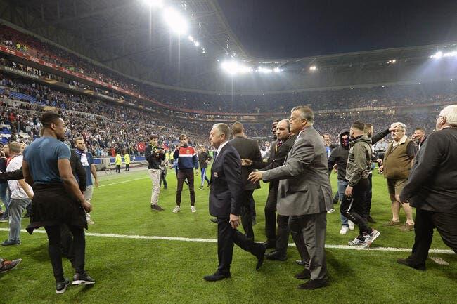 Procédure disciplinaire ouverte contre l'OL — Besiktas