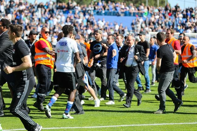 Lopes, Mateta et Gorgelin portent plainte — Incidents Bastia-OL