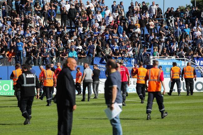 Le SC Bastia ferme la tribune Est d'Armand-Cesari jusqu'à nouvel ordre