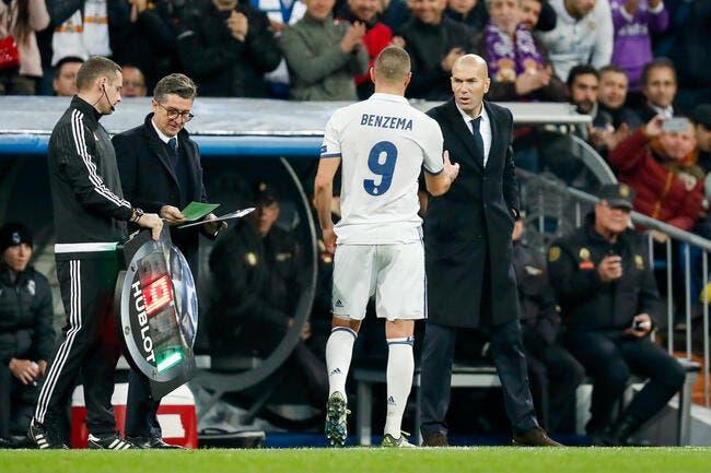 EdF: Deschamps fait déprimer Benzema témoigne Zidane