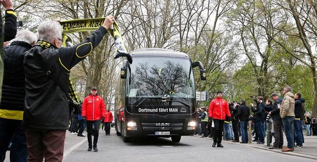 Le suspect de l'attaque sur le bus de Dortmund arrêté