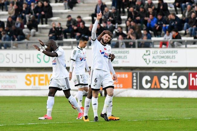 Brest - Amiens : 2-3