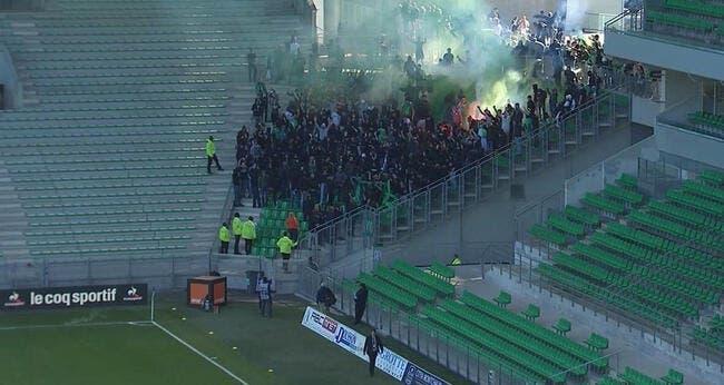 ASSE - Rennes : Des supporters entrent de force, le match arrêté 15 minutes !